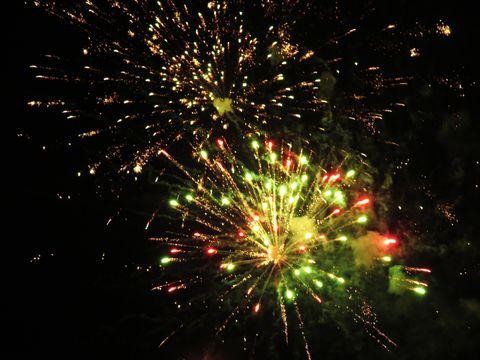 Лазерное шоу, сказочный фейерверк и дискотека под открытым небом - в новогоднюю ночь измаильчане веселились вовсю!