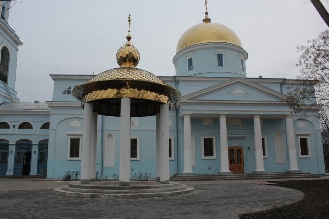 Часовня Святого Андрея Первозванного уже с куполом!