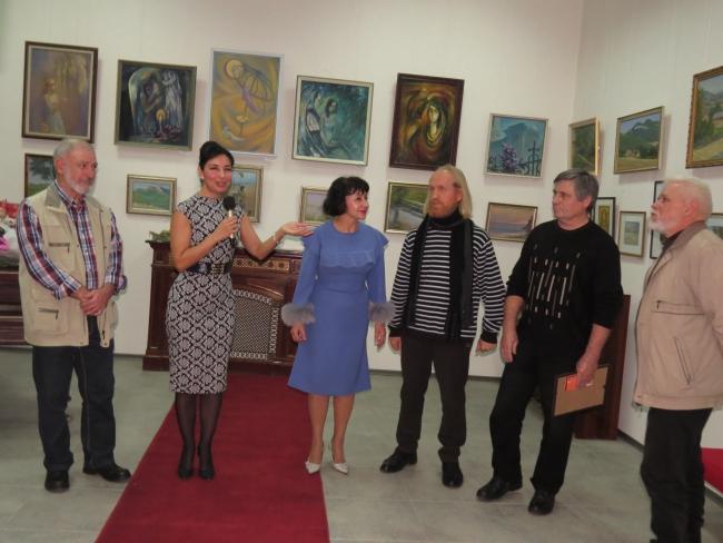 Персональная выставка - подарок городу в собственный юбилей