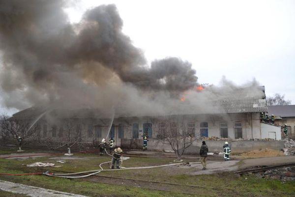 Пожар на территории станции «Одесса-Сортировочная»: огонь охватил 400 «квадратов»