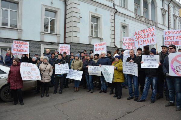 Драконовскому решению АМПУ о сокращении охранников портов пытаются оказать противодействие на местах