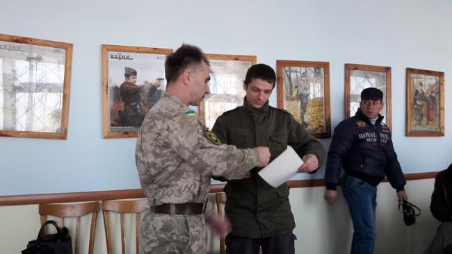 Тридцать военнослужащих получили награды Президента Украины