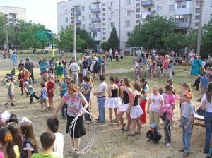 Измаил впервые отпраздновал День улицы