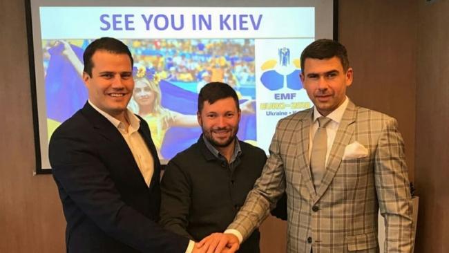Украина примет чемпионат Европы по мини-футболу