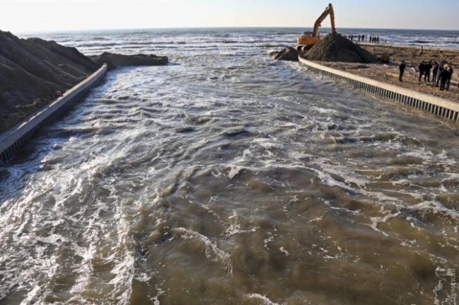 Уровень воды в Тилигульськом лимане значительно увеличился