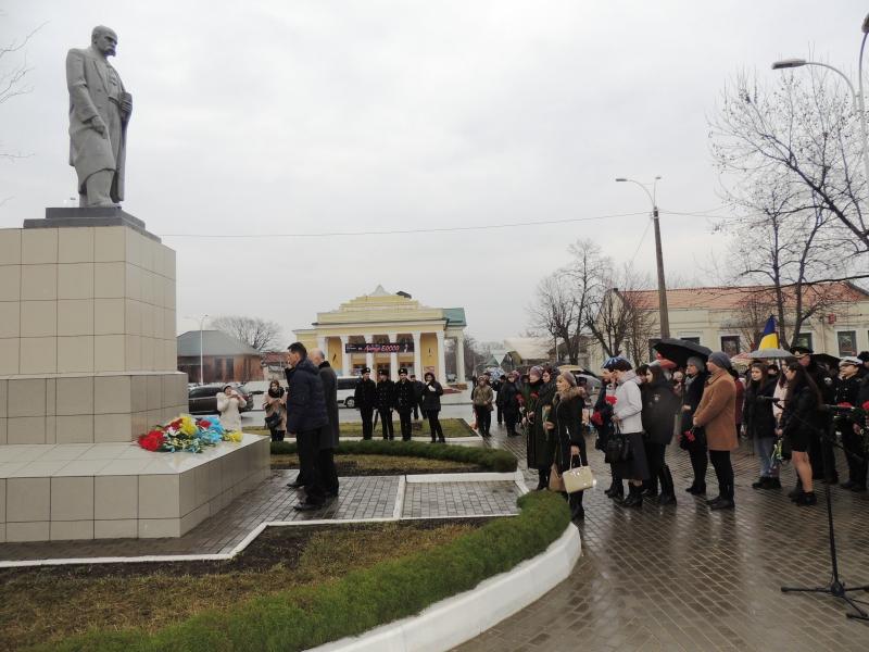 В Измаиле отметили 204-ю годовщину со дня рождения Тараса Шевченко