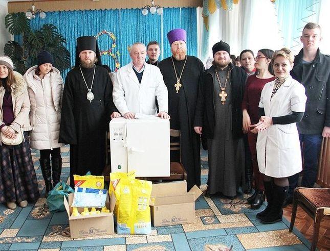 УПЦ передала Измаильскому Дому ребёнка медицинское оборудование и гуманитарную помощь