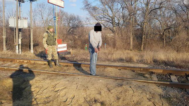 Пограничники Измаильского отряда задержали гражданина Республики Молдова за незаконное пересечение государственной границы