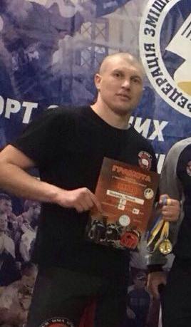 Пограничник Измаильского отряда взял золото в открытом чемпионате Одесской области по смешанным единоборствам ММА