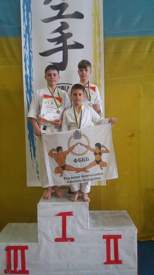 Три каратиста Измаильщины стали призёрами областного первенства