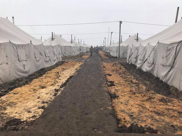 На полигоне Широкий Лан произошел пожар: погиб военный