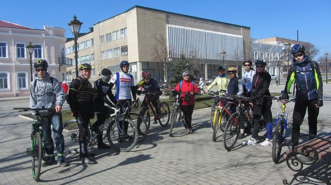 Весна, велосипед, здоровье!