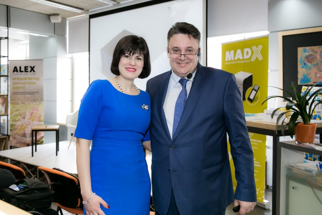 В Киеве презентовали самый современный и высокотехнологичный тест в области диагностики аллергии