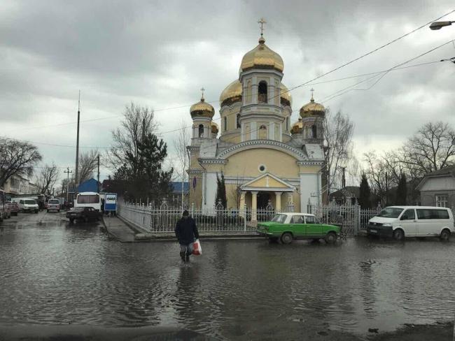 Из-за подтопления в городе Вилково мобилизованы все службы