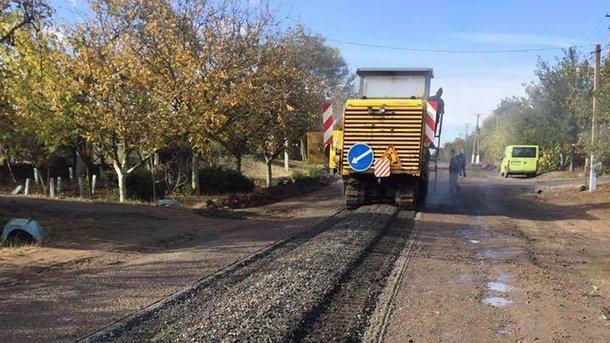 В Одесской области начался ремонт жизненно важной трассы