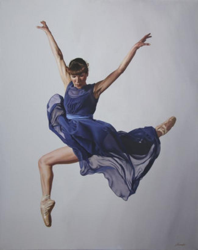 Британка покорила мир серией картин о балеринах: утончённые фото
