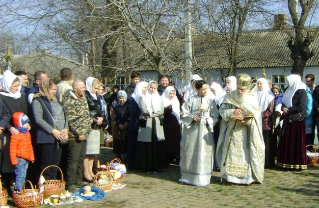 Старообрядцы встретили Пасху