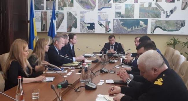 Представители Береговой охраны США посетили Одессу