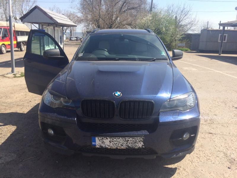 Пограничники Измаильского отряда обнаружили украденный внедорожник BMW