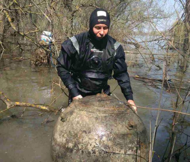 Спасатели покончили с четвёртой миной и призывают всех быть острожными на Дунае