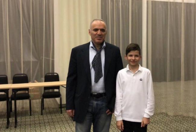 Юный измаильчанин здоровался за руку с самим Гарри Каспаровым!