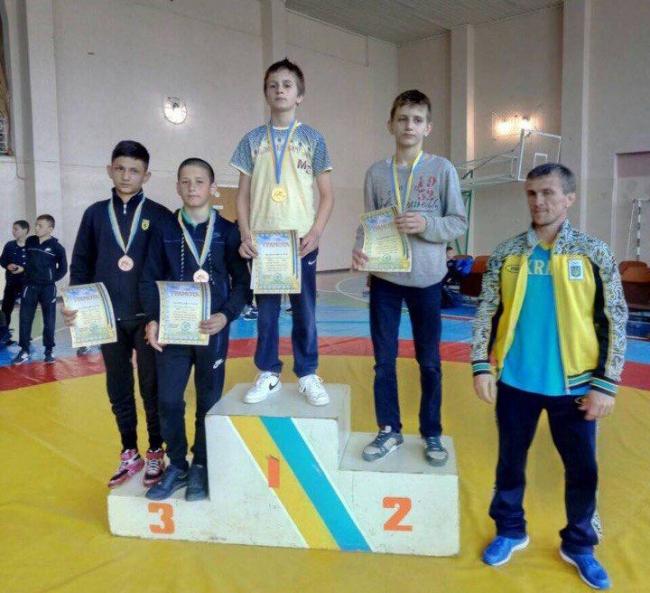 Юные измаильские борцы стали чемпионами Одесской области