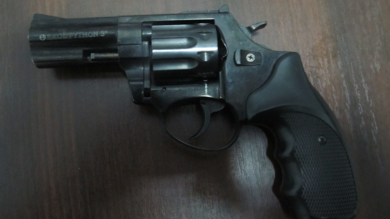 Пограничники Измаильского отряда обнаружили револьвер и охотничий нож в иномарке