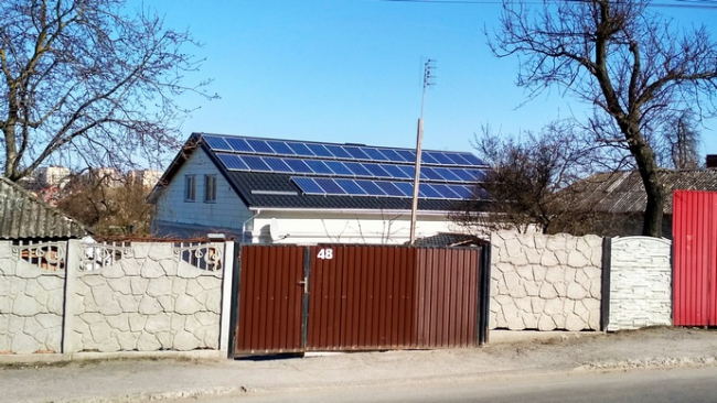 Ощадбанк начал кредитование на установку солнечных электростанций