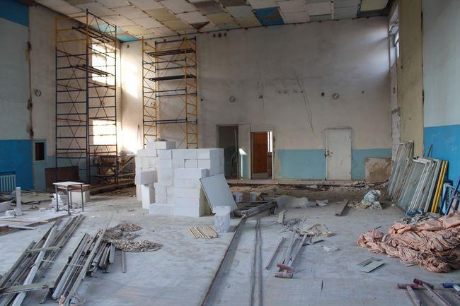 В Измаильском горотделе полиции помещение актового зала реконструируют под современный спортивный зал