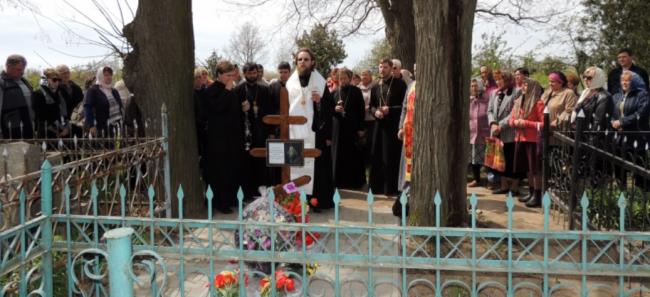 В Матроске почтили память архиепископа Неофита и односельчан