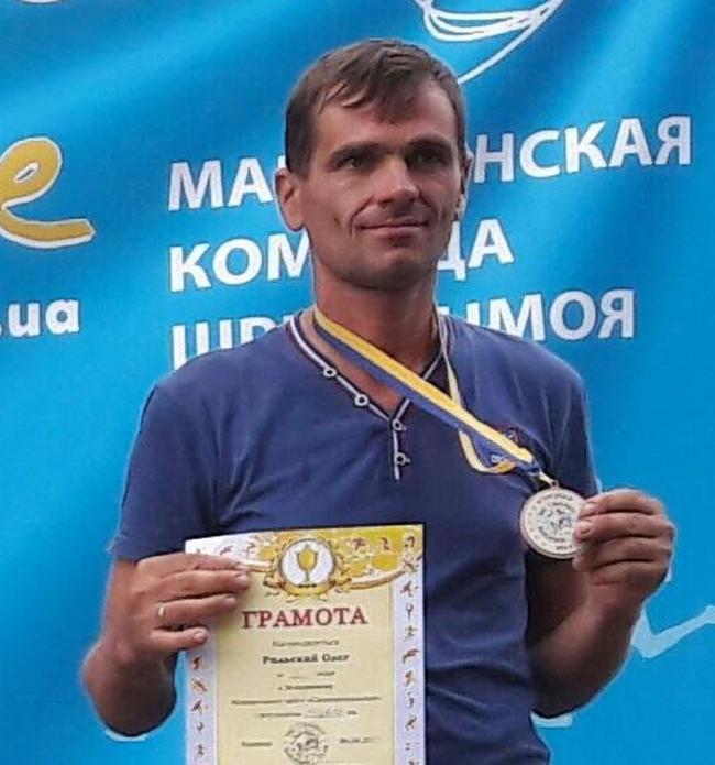 Мой друг Олег Рыльский - невероятный спортсмен и человек-преодоление