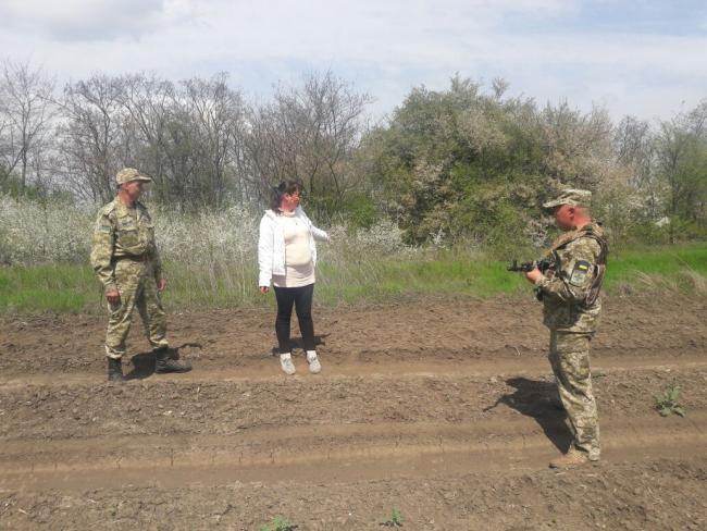 Пограничники задержали гражданку Молдовы за незаконное пересечение границы