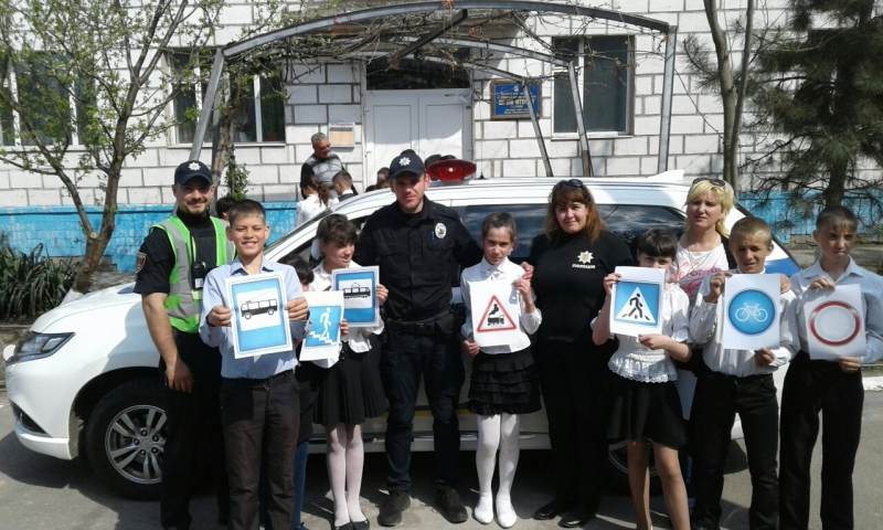 Полицейские напомнили учащимся Утконосовской школы-интерната о правилах дорожного движения