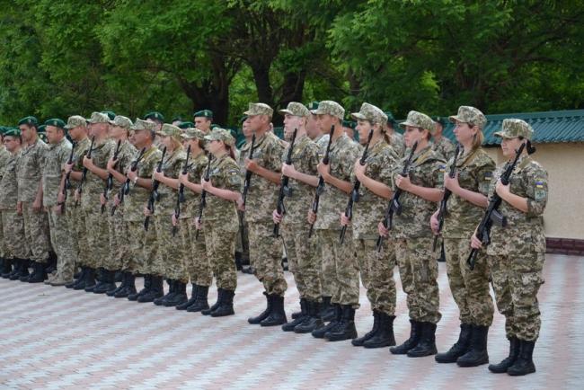 Защищать границу отправляются девушки