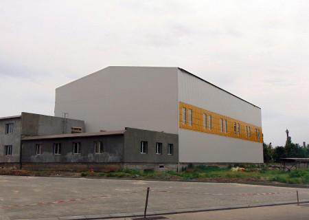 В Измаиле продолжается масштабное строительство Дворца спорта