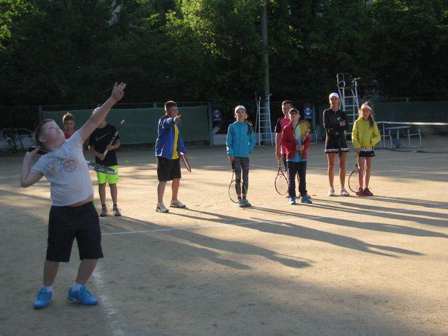 """""""Червона рута"""": чисто теннисное открытие"""