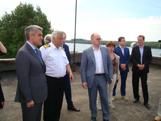 Губернатор Одесщины Максим Степанов презентовал в Рени новую стратегию развития дунайских портов