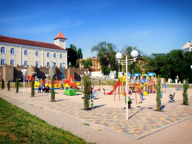 Мэр – о новой детской игровой площадке