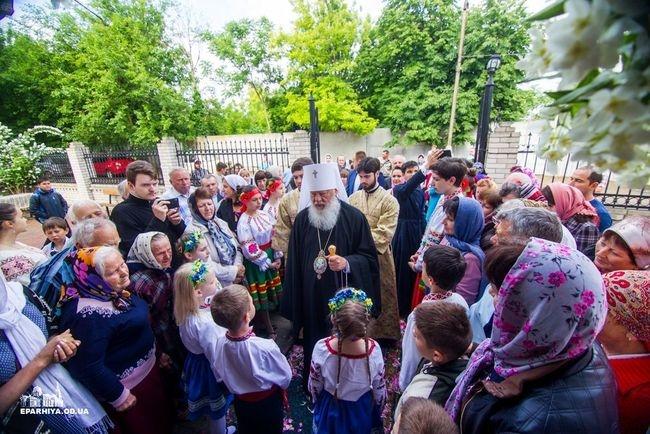 Митрополит Агафангел посетил Килию с архипастырским визитом