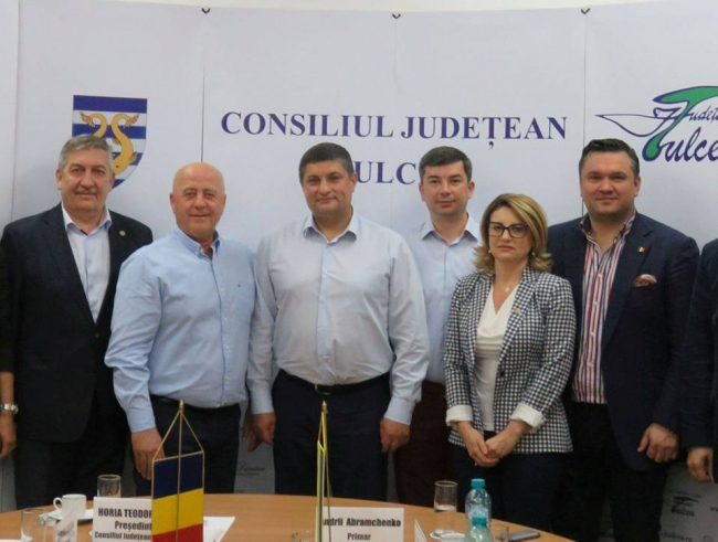 Измаильская делегация побывала в Тулче