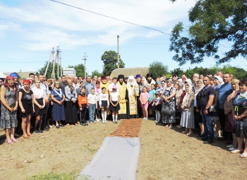 В Матроске сделали первый шаг к восстановлению Свято-Николаевского сельского храма