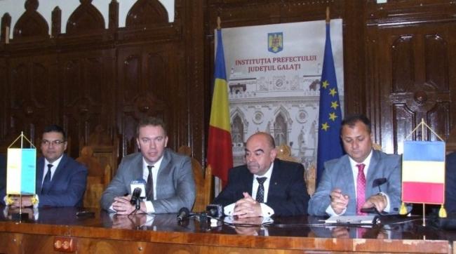 Посол Украины обсудил в Галаце открытие переправы Орловка-Исакча