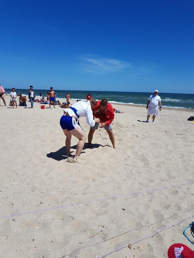 Лето, море, песок и …самбо