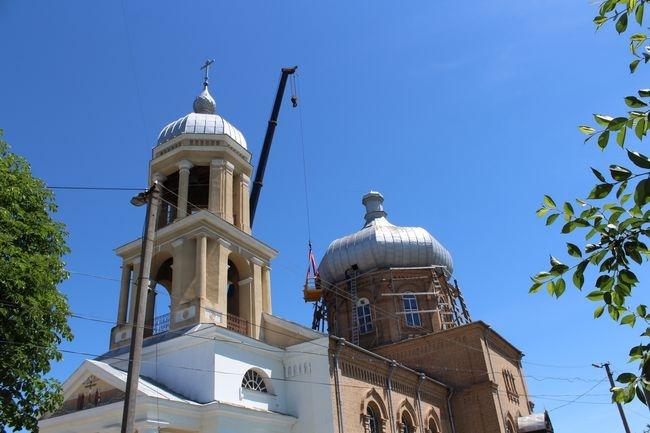В церкви села Старая Некрасовка заменят купол