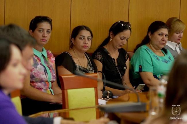 В Одесской областной государственной администрации рассмотрели вопросы защиты прав цыганских женщин