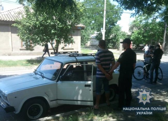 Полицейские Измаила за сутки разыскали автомобиль, который числился в угоне