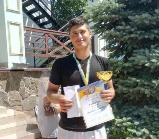 Победителем чемпионата Украины стал измаильский теннисист Марк Васюк!