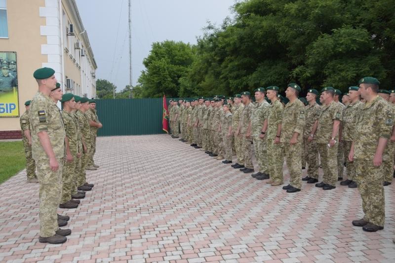 В Измаильский погранотряд для дальнейшего прохождения службы прибыли офицеры 2018 года выпуска