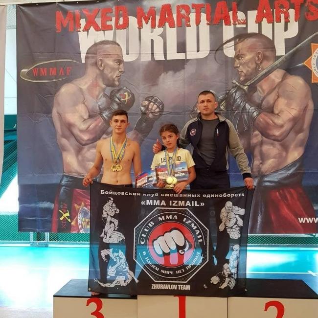 Четыре золотые медали наших бойцов ММА