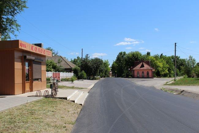 Завершается ремонт дороги Ларжанка-Матроска-Броска